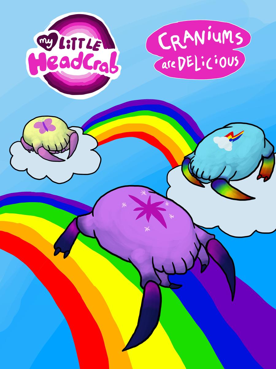 Pinkies Predictions~ My_little_headcrab_by_blackrathmar-d3jweeh